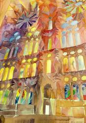 Sagrada Familia by takmaj