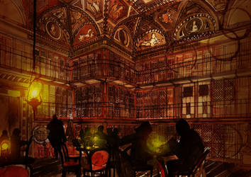 Library by takmaj