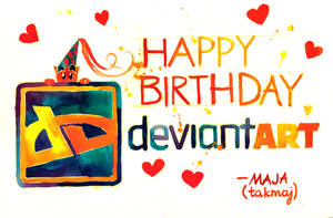 HAPPY BIRTHDAY DEVIANTART!