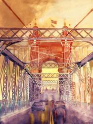 On the Roebling Bridge by takmaj