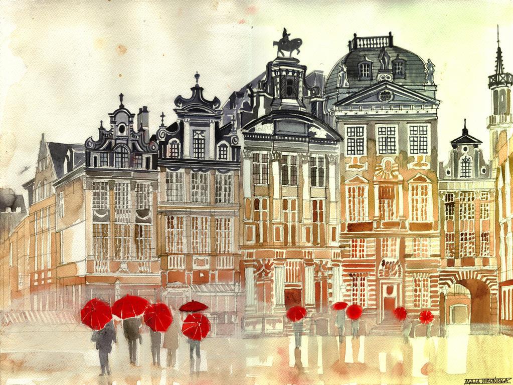 market in Brussels by takmaj