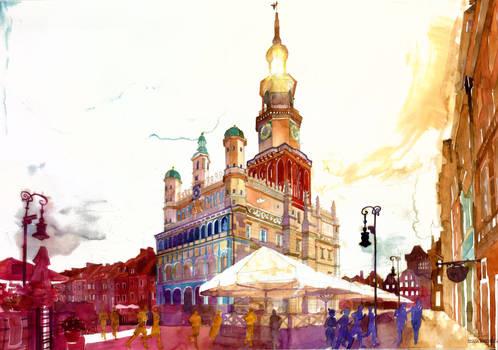 market in Poznan