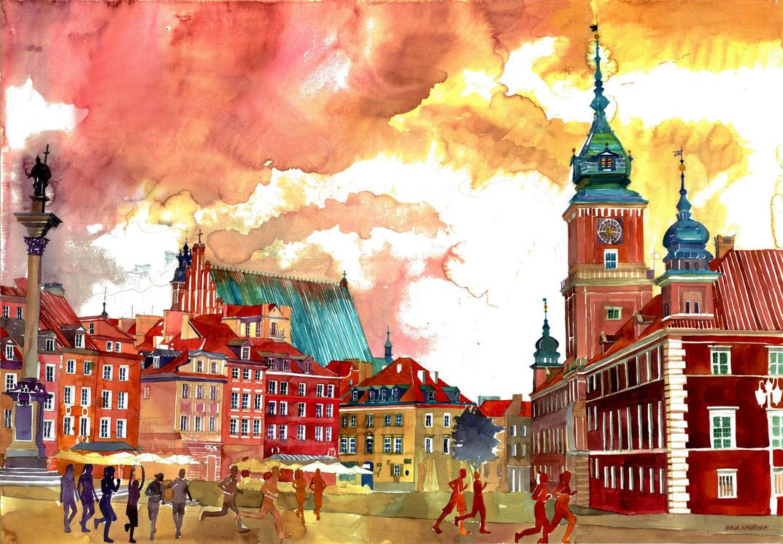 Warsaw by takmaj