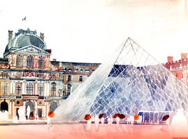 Louvre in September by takmaj