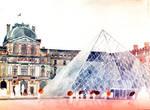 Louvre in September