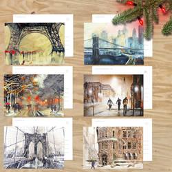 Winter card pack by takmaj