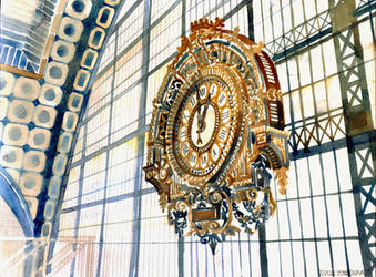 Clock by takmaj