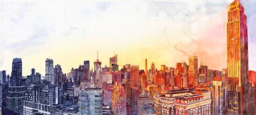 Sunshine in NYC