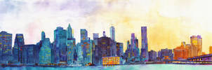 NYC panorama by takmaj