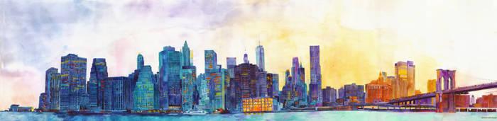 NYC panorama by takmaj
