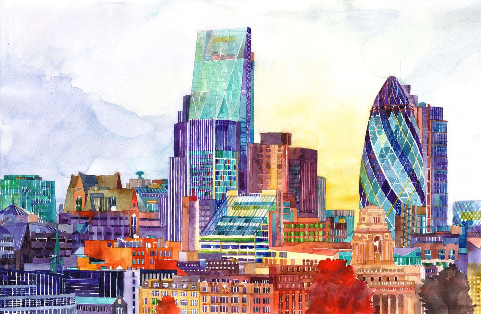 Sunshine in London by takmaj
