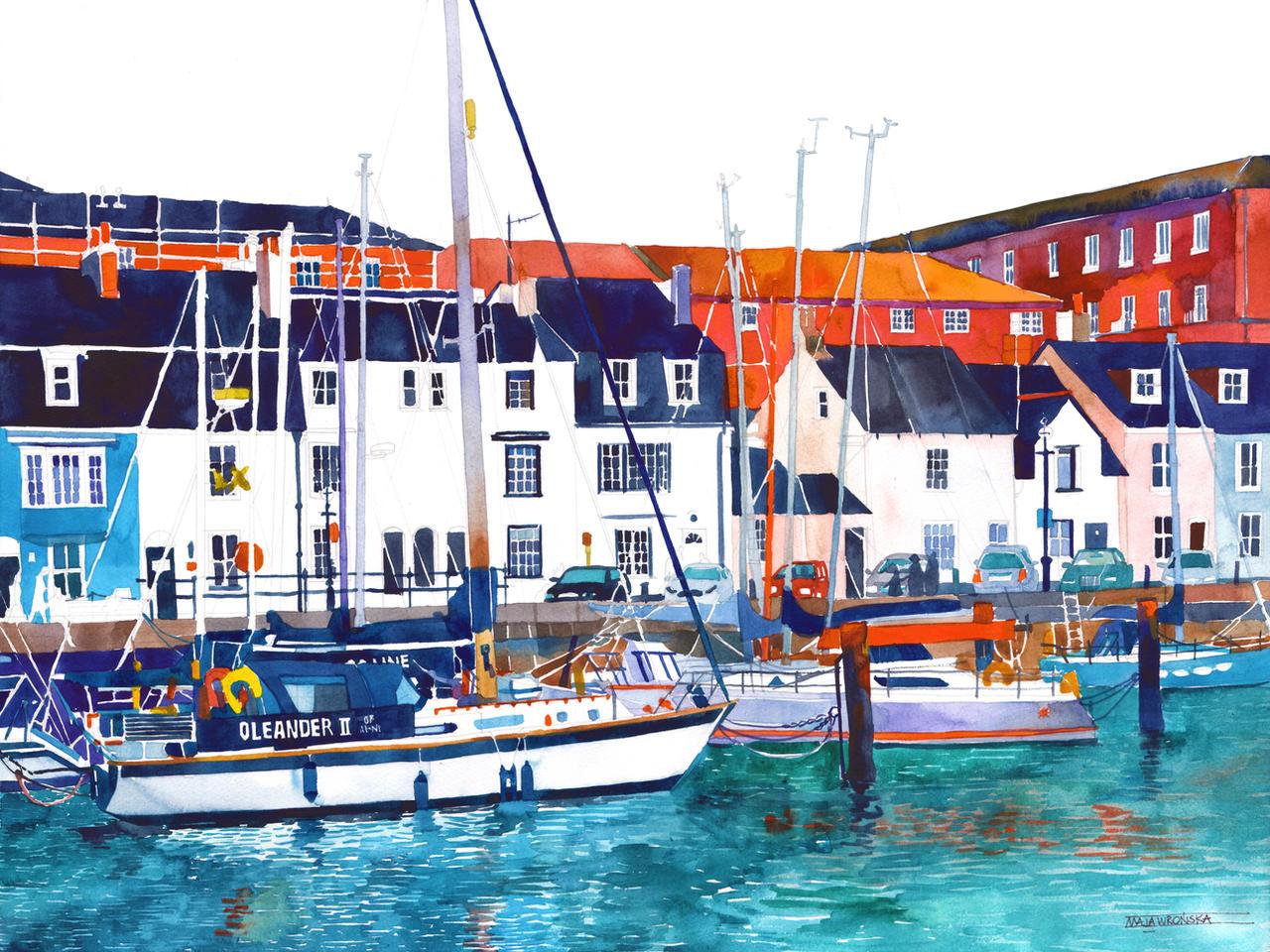 Port in Weymouth by takmaj