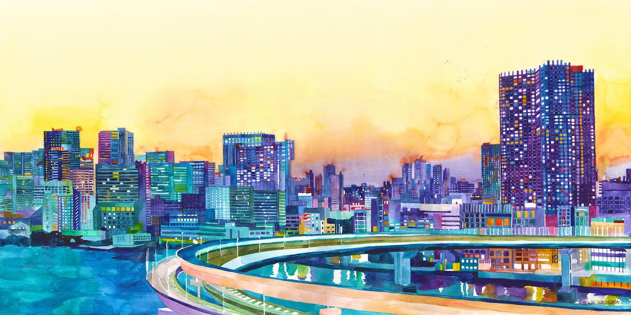 Tokyo by takmaj