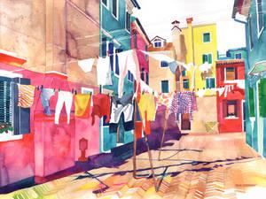 Laundry in Venice
