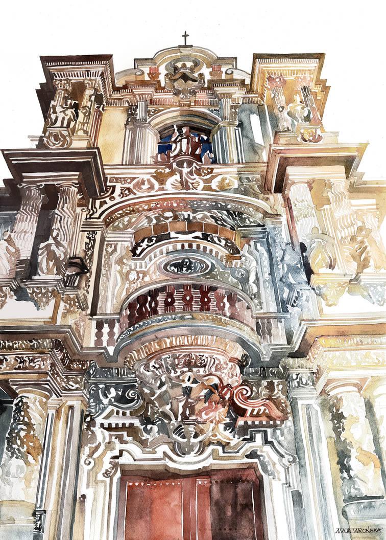 Palace of San Telmo by takmaj