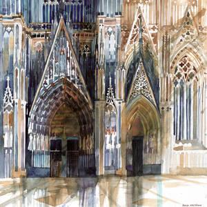 Koln cathedral's facade