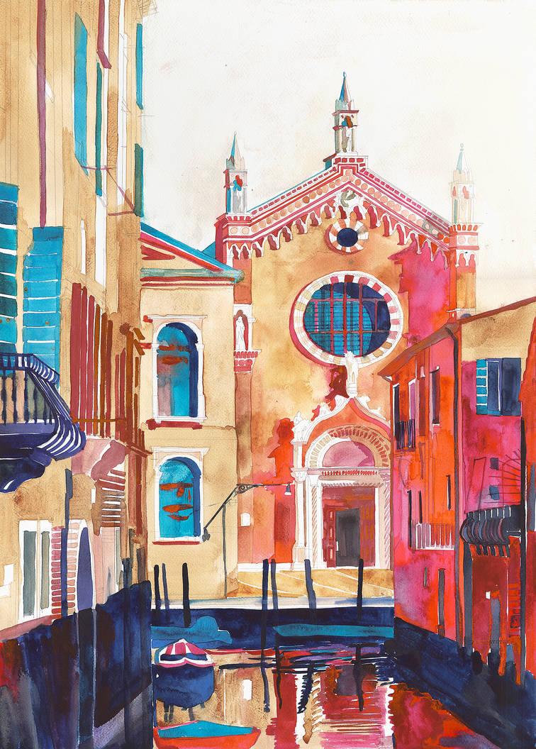 Chiesa della Madonna dell'Orto, Venice by takmaj
