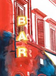 Bar in Rome by takmaj