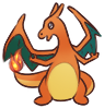 Charizard Sticker SMALL by Riazey