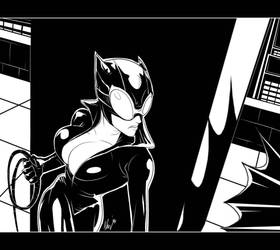 Catwoman by Paranoidvin