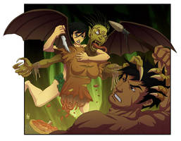 The Ultimate Aswang Battle 03 by Paranoidvin