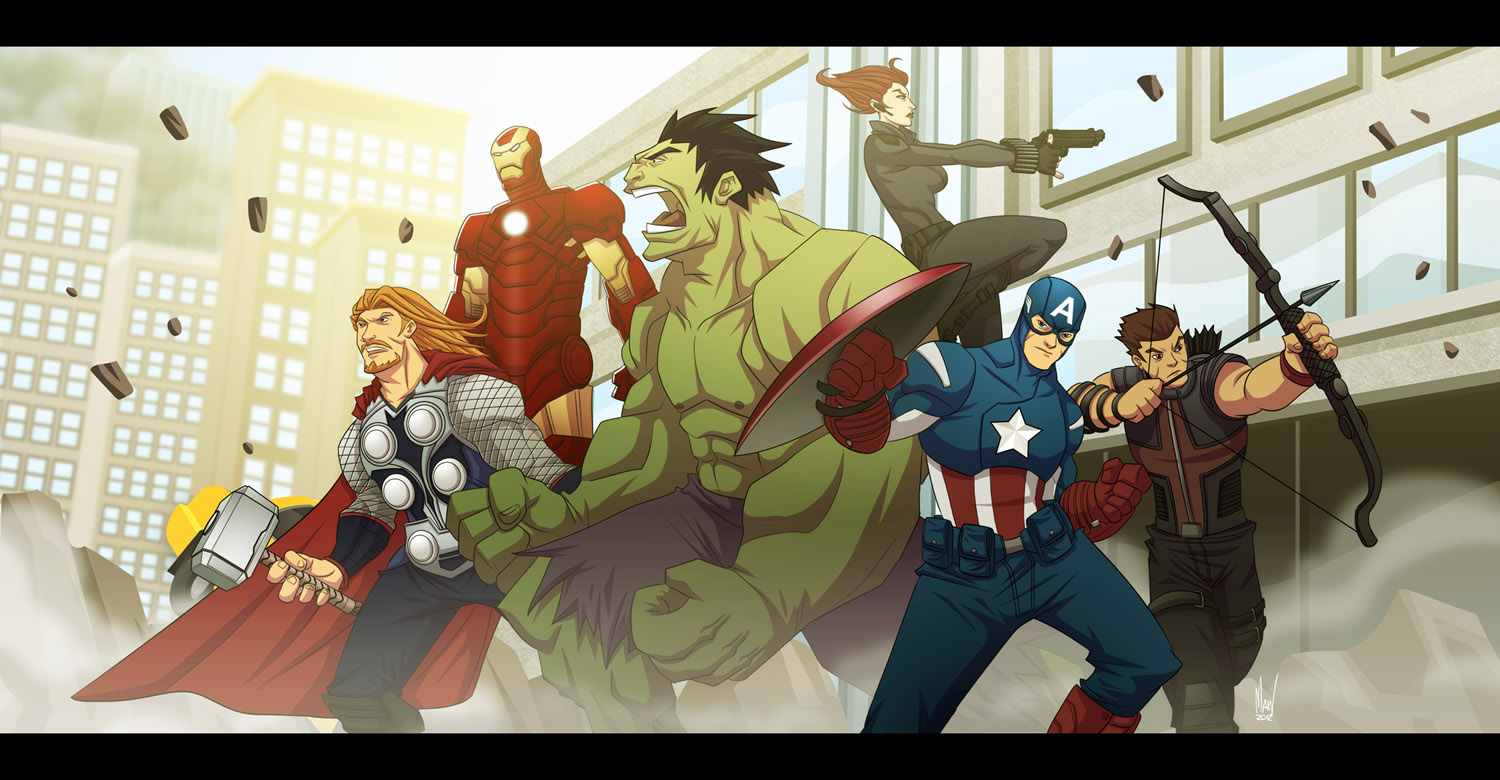 Assemble by Paranoidvin