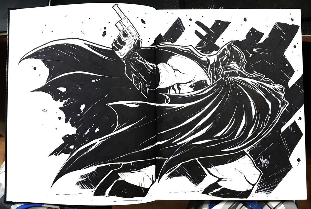 The Dark Knight Returns by Paranoidvin