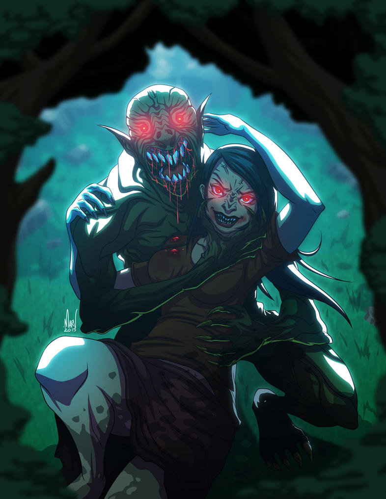 Aswang Lovers by Paranoidvin