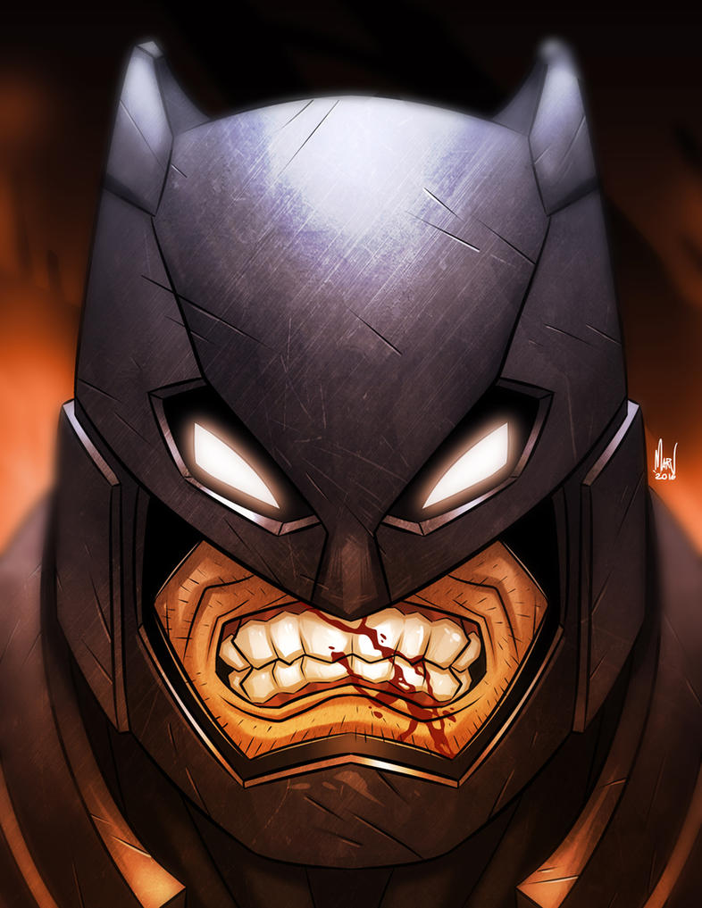 Angry Batty by Paranoidvin