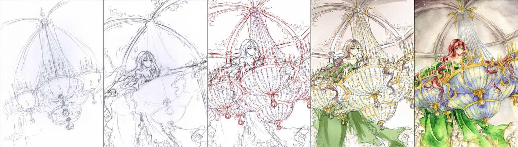 Baroness of Light_Progress by Kite-d