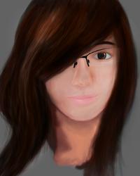 [Way to paint] #1 : Portrait of a girl by Hokimisu