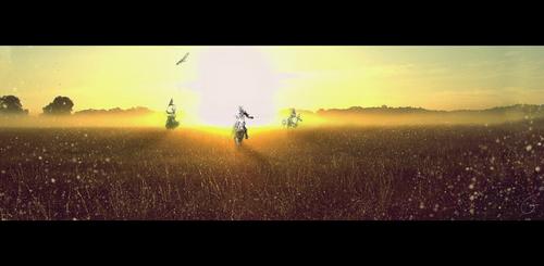 Trois Cavaliers by Hokimisu