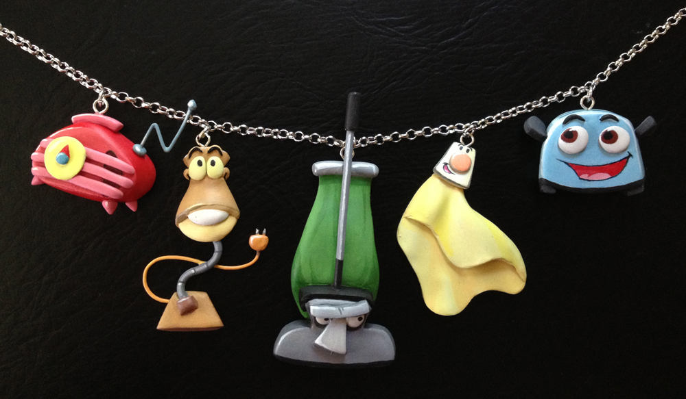 The Brave Little Toaster Necklace by Gatobob