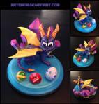 Spyro Sculpture