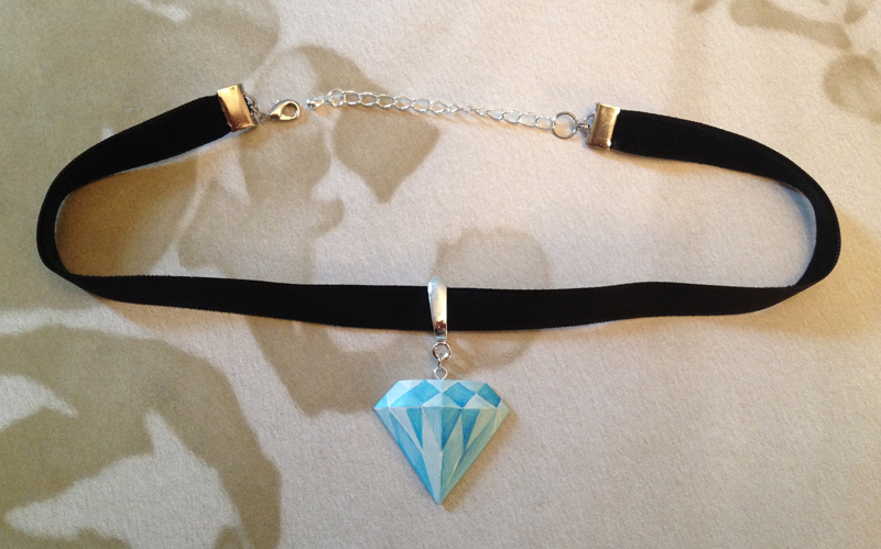 Diamond Choker by Gatobob