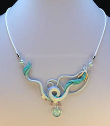 Dragon Necklace - Haku by Gatobob