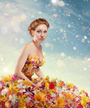 Flower dress 1 mini