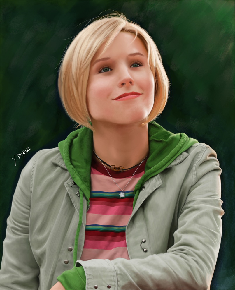 Kristen Bell as Veronica Mars by YuriDnz