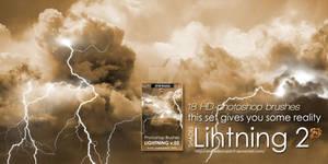 Shades Photoshop Lightning Brushes 2