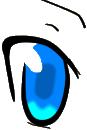 A blue eye by Akai-kami