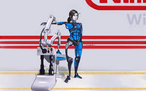 The Assembly of Wii Fit Trainer by ChocolateKeys