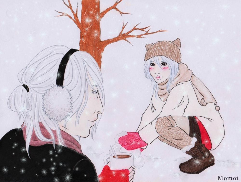 Snow lantern by MomoiPie