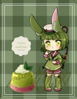 [A][OPEN] DS: Matcha Adzuki Pudding Adopt by mienzhyre