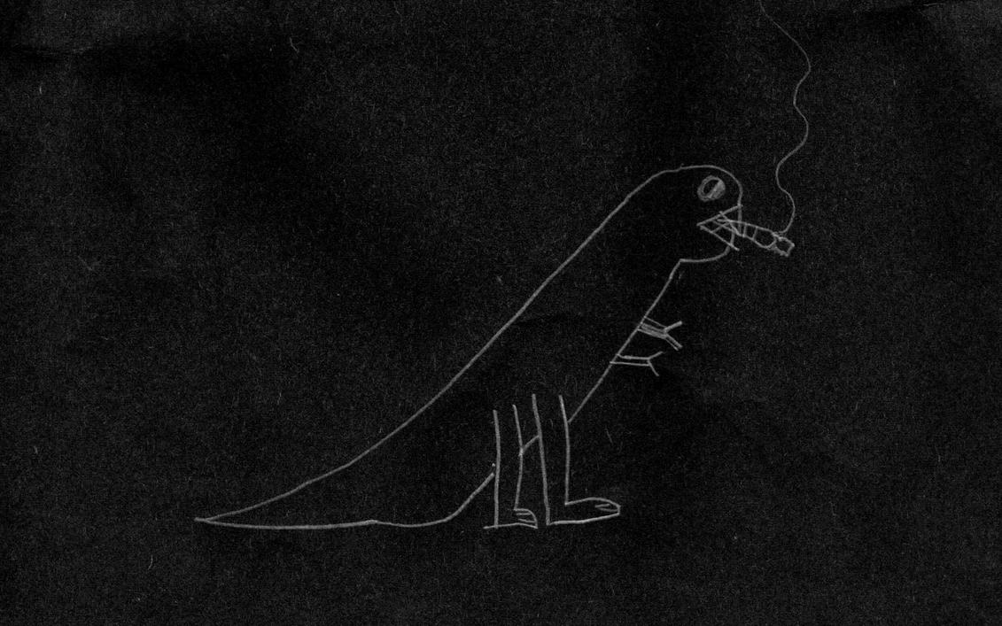 SMOKING T-REX by precurser