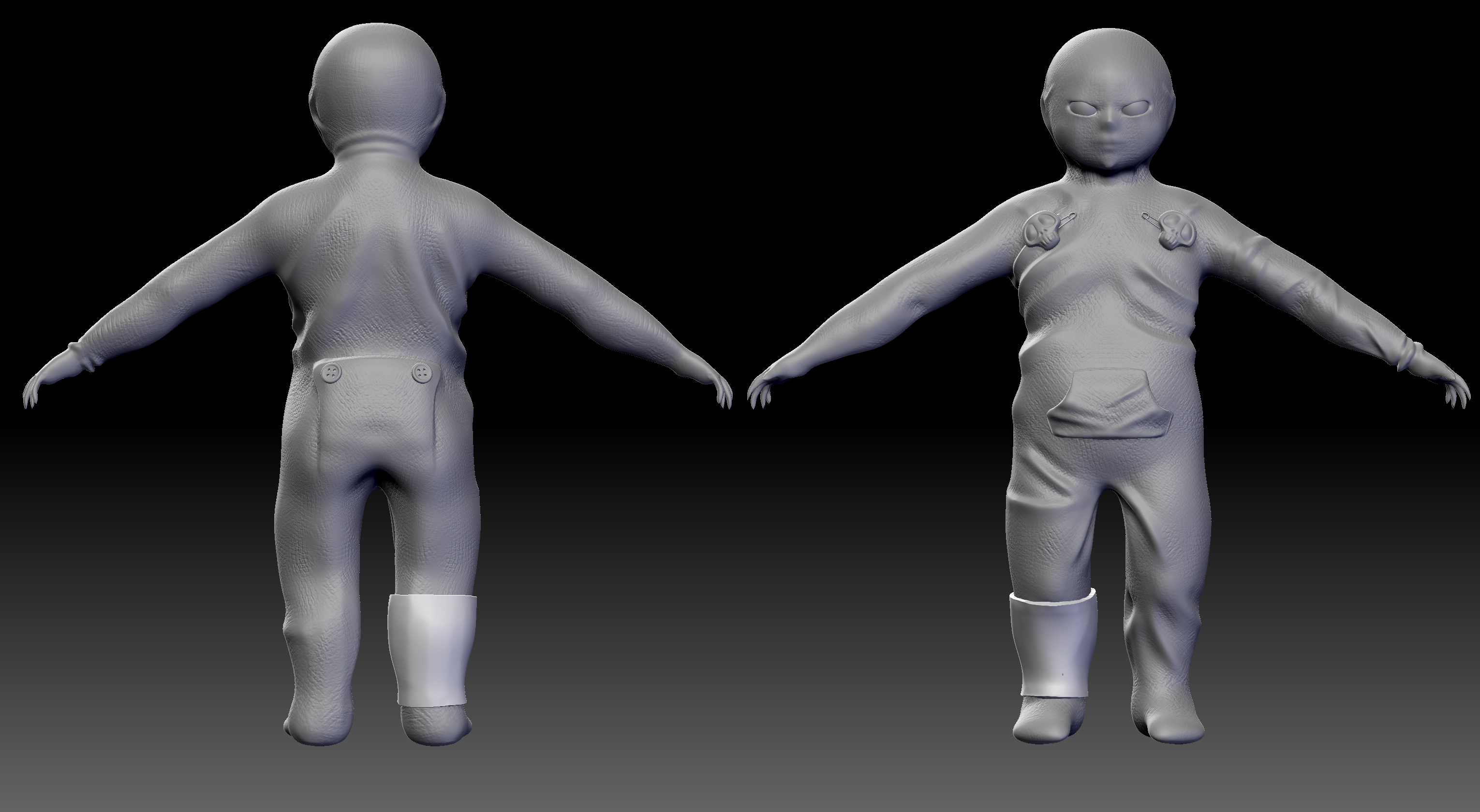 baby_spawn___1st_concept_sculpt_by_lorenzomelizza-d6utyfr.jpg
