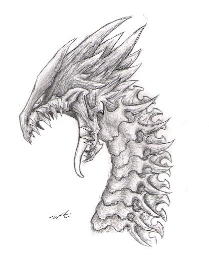 Armored Dragon by SordxMaelstrom on DeviantArt