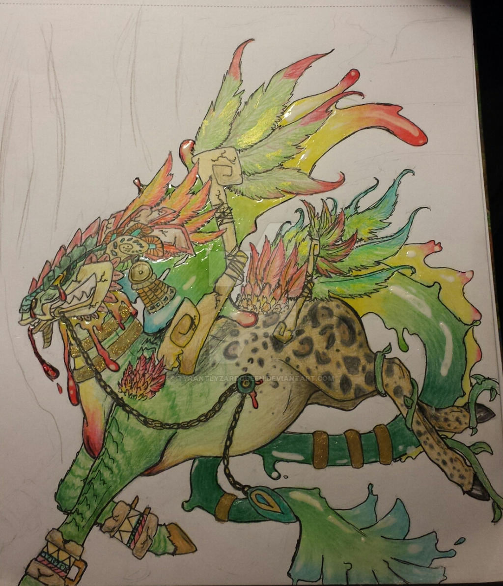 Feathered serpent