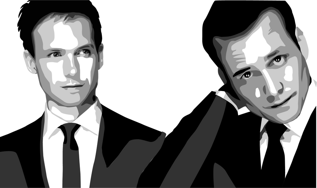 Mike Ross + Harvey Specter (Suits) By Obanator2 On DeviantArt