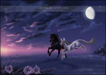 Moonlight Escapade by cerona
