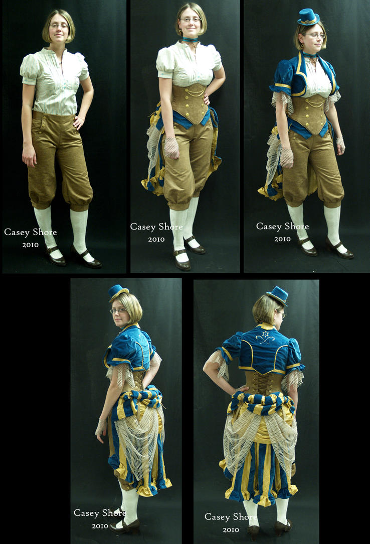 Steampunk Outfit by WanderingWindward